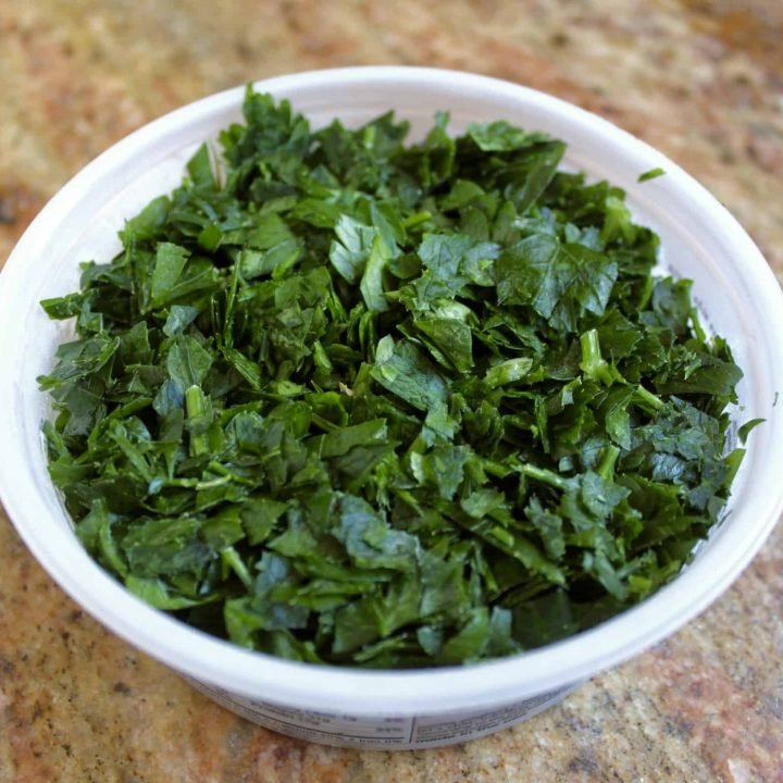 How To Freeze Fresh Parsley Quick And Easy Tips Christina S Cucina