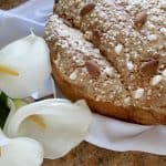 Traditional Italian Dove Bread for Easter (Colomba di Pasqua)