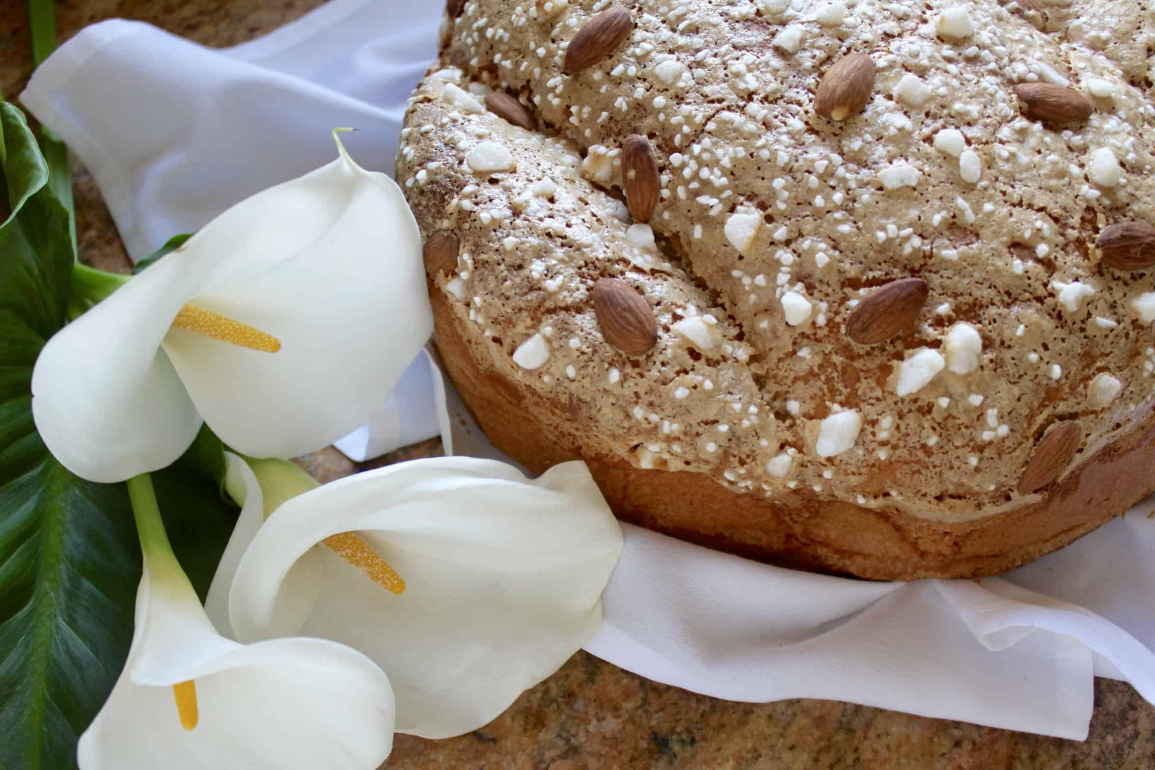 Colomba di Pasqua or Easter Dove Bread