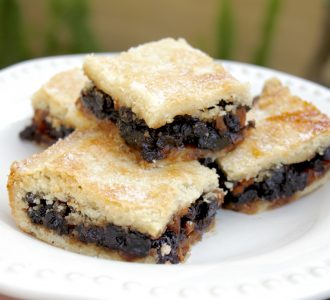 Scottish Fruit Slice, Fruit Squares, Fly Cemetery or Fly's Graveyard (Oh My!)