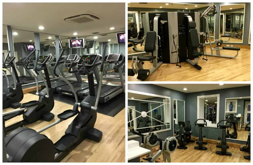Workout areas at Balmoral Hotel