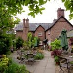 Afternoon Tea at the Gardener's Cottage in Tatton Park, a National Trust Property