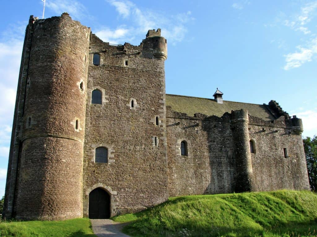 Doune Castle used in Outlander and Monty Python's Holy Grail