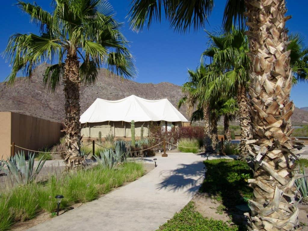 Honeymoon hut at Villa Del Palmar in Loreto