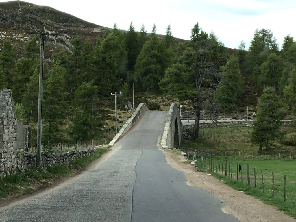 Bridge in Cairngorm National Park