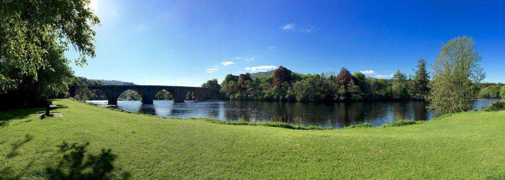 River Tay in Dunkeld