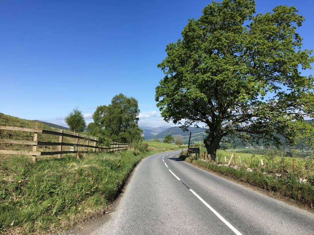 Road to Aberfeldy