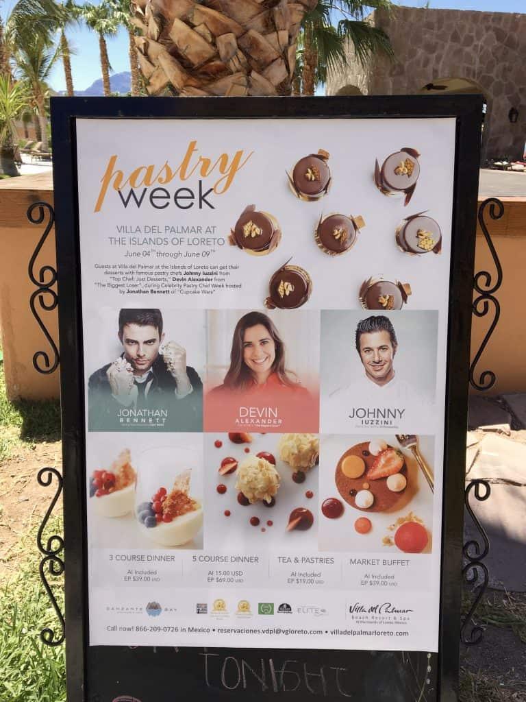 Villa Del Palmar Pastry Week, Loreto, Mexico