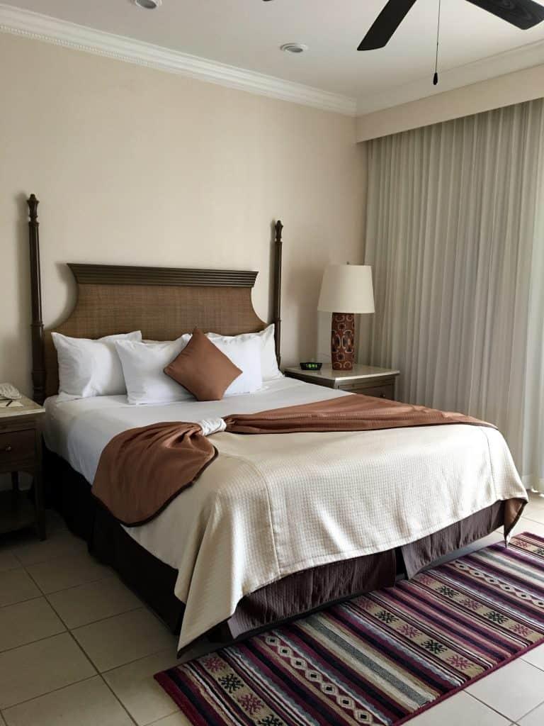 Bed at Villa del Palmar Loreto