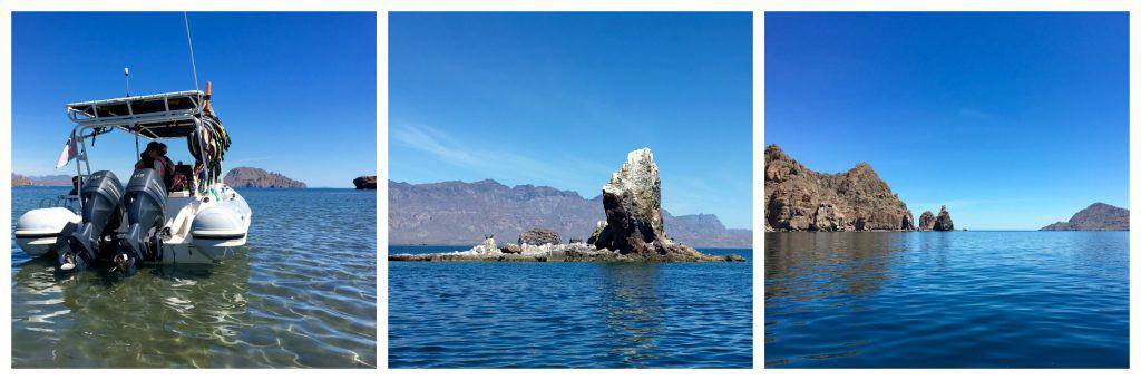 Boat tour of Loreto and islands nearby