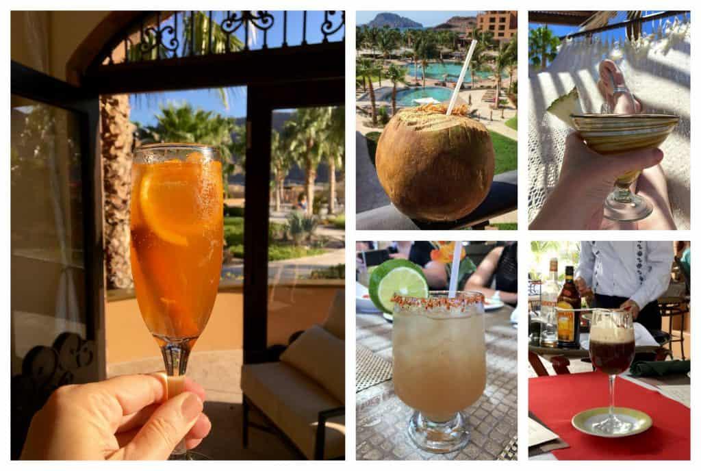 Drinks at Villa Del Palmar in Loreto
