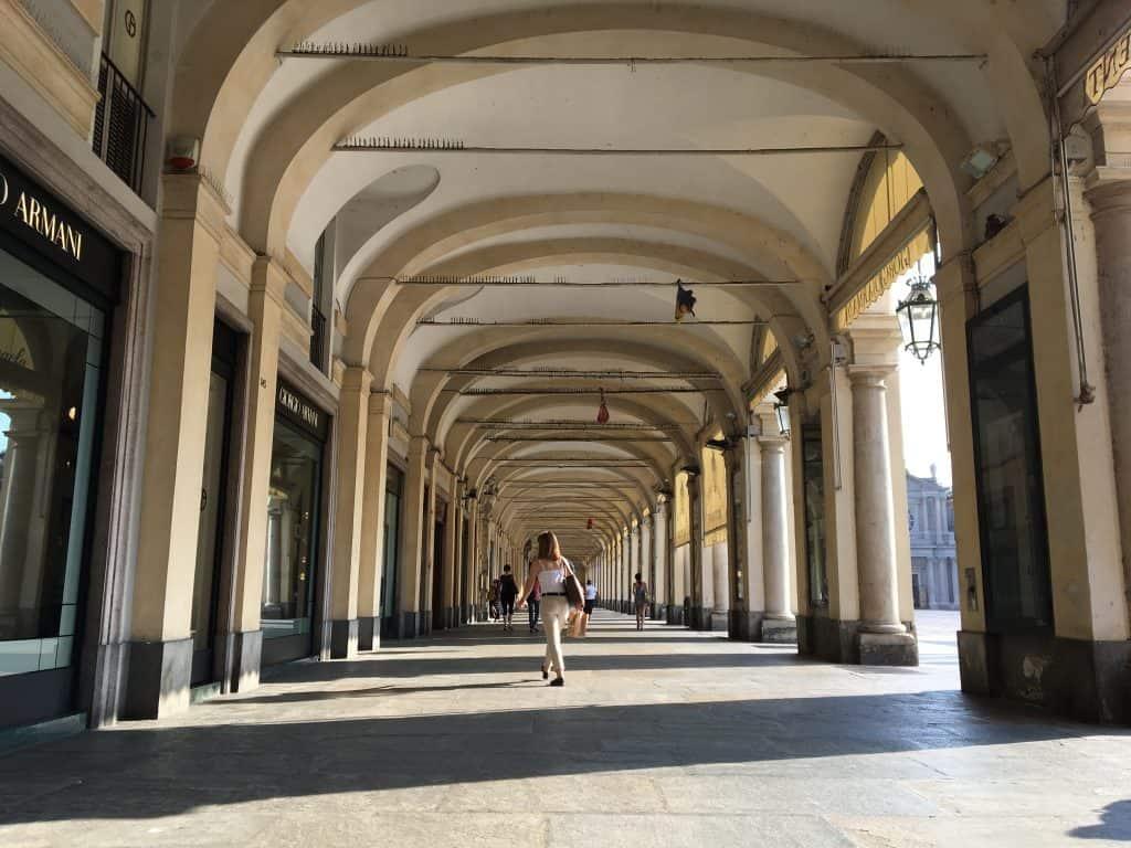 arcade colonnade torino turin