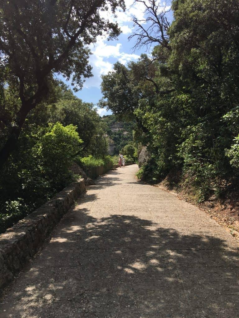 Monserrat hiking