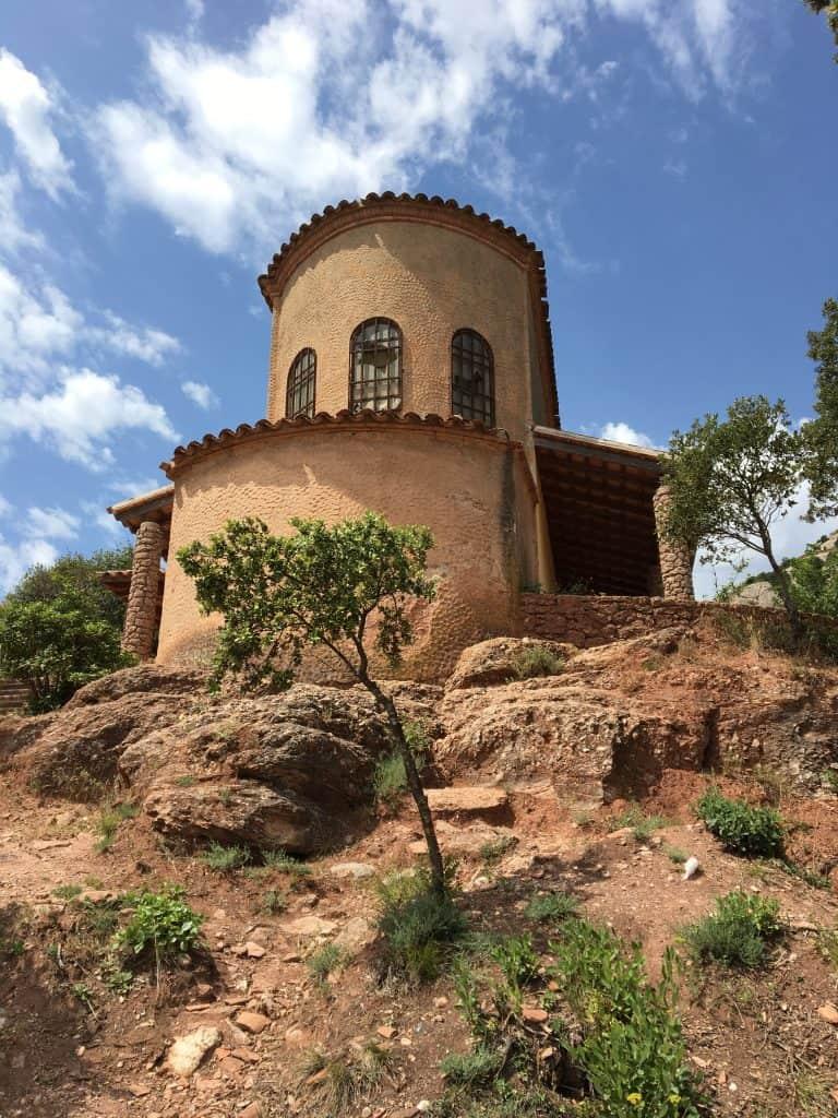 A small chapel near St Michael's Cross, Montserrat