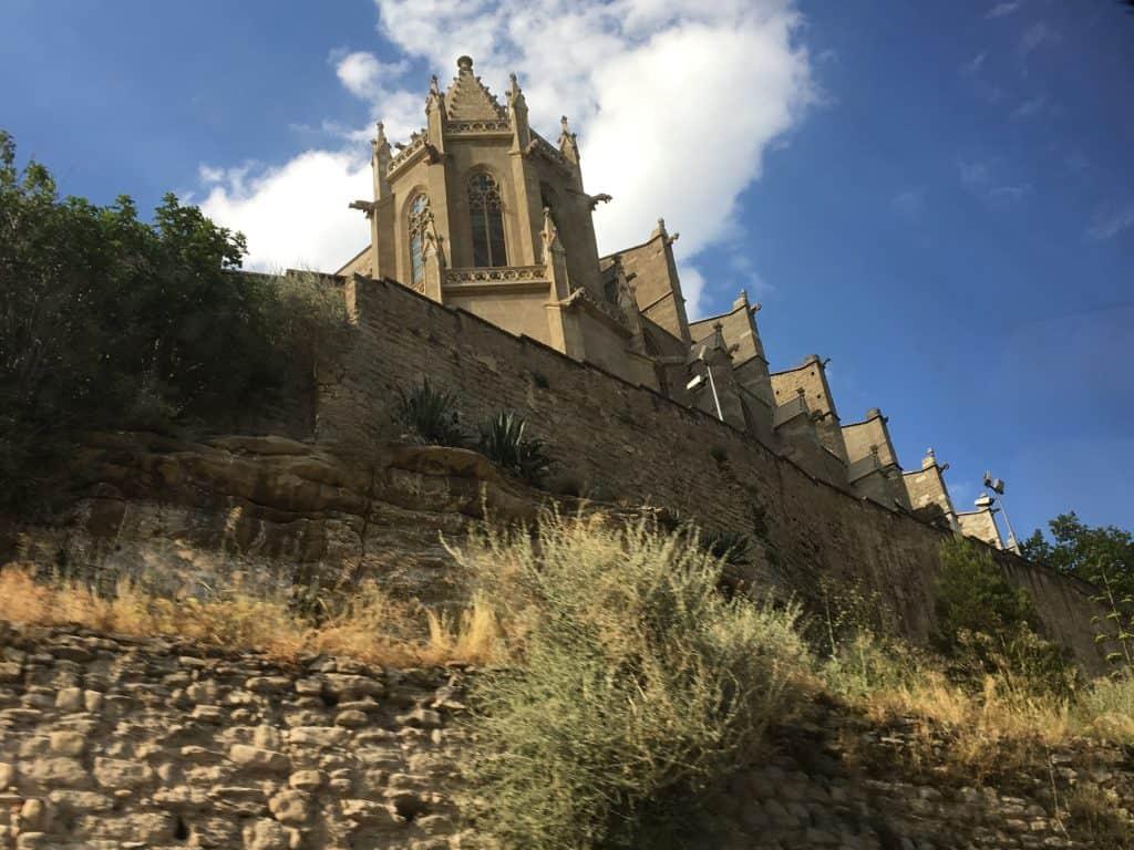 Famous church in Manresa