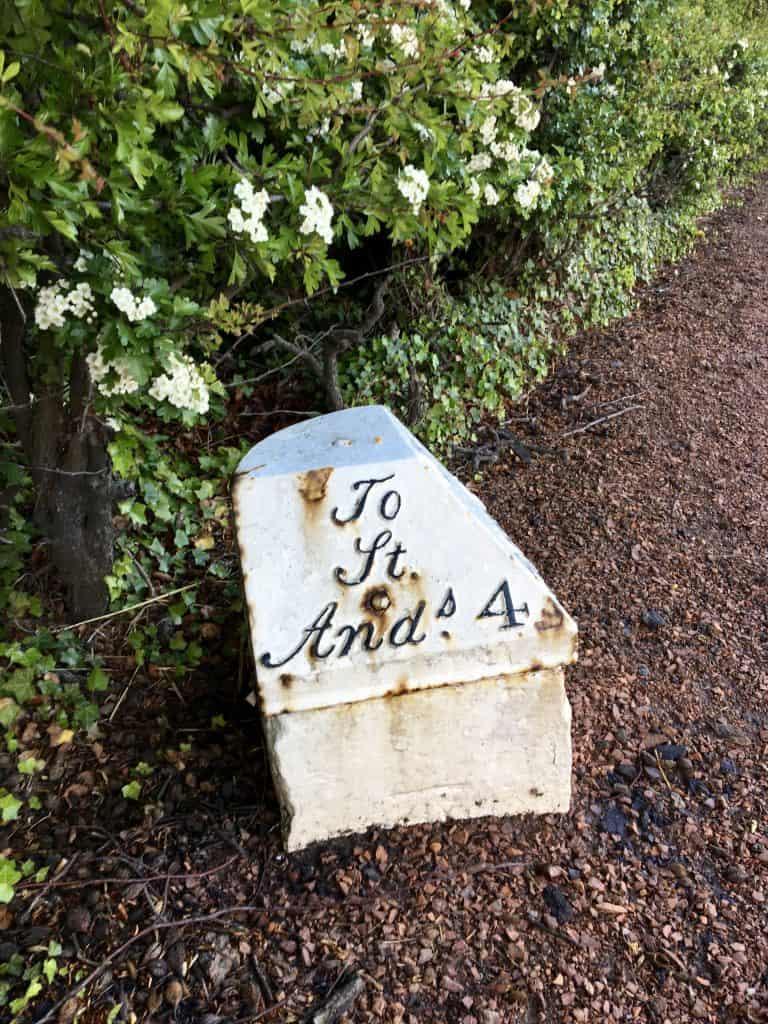 St Andrews marker