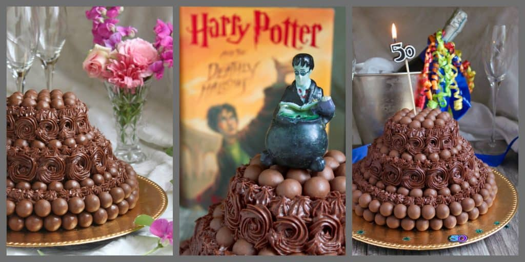 Malteser Cake ideas Harry Potter birthday