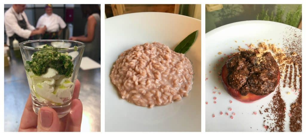 Dishes we learned to make in Qubi cooking class, Turin