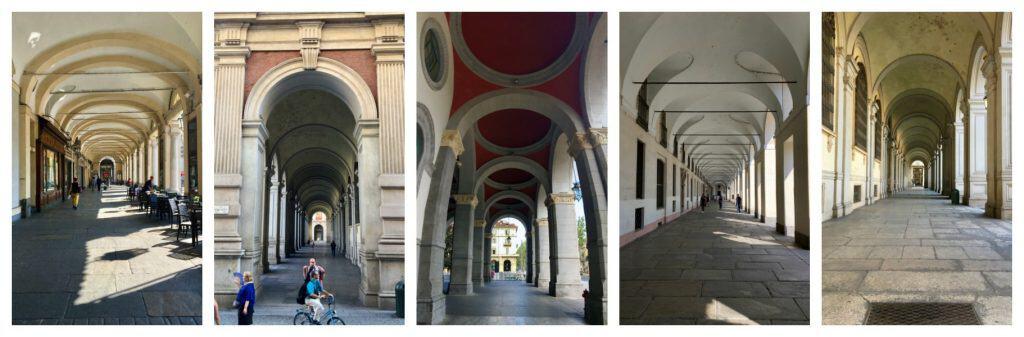 arcades Turin Torino colonnade Italy travel