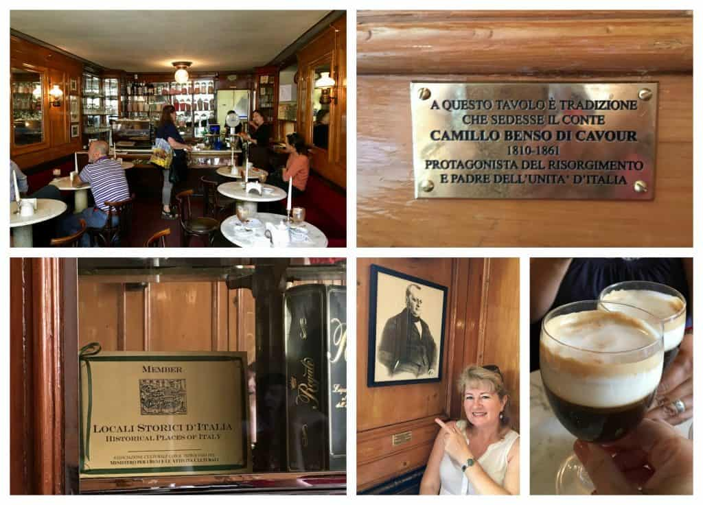 caffe bicerin turin torino coffee special drink famous shop