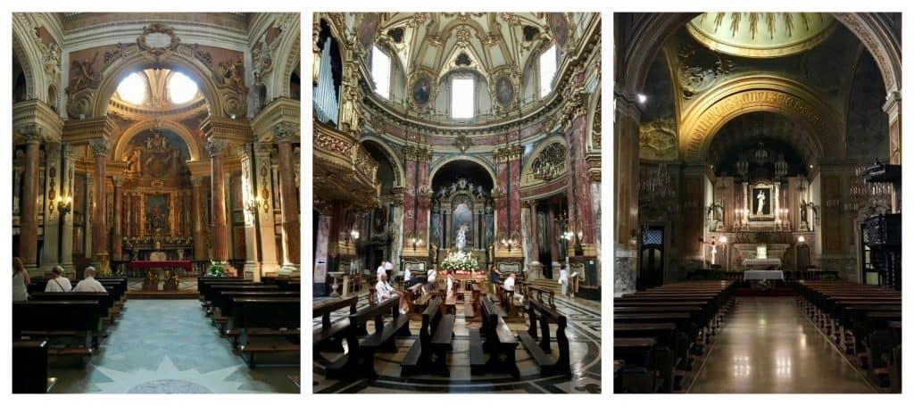 churches Turin Torino view