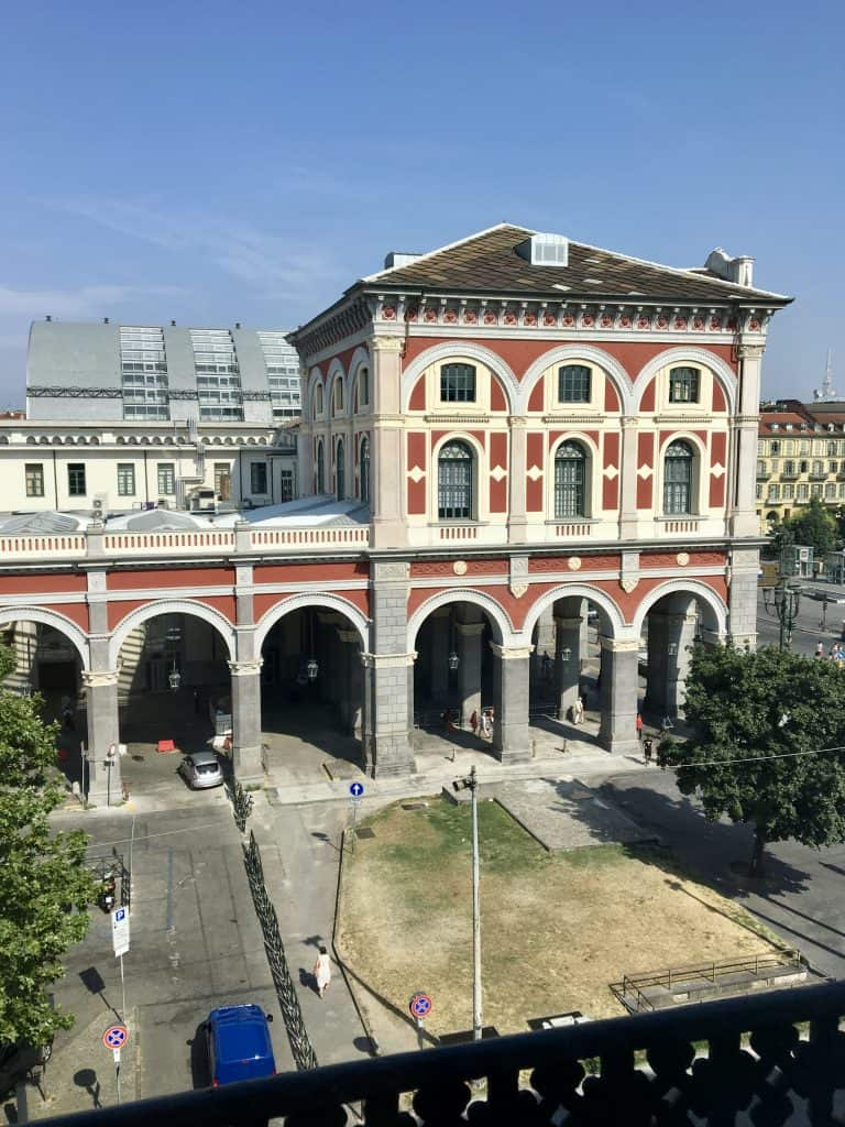 Porta Nuova train station, Turin, Italy