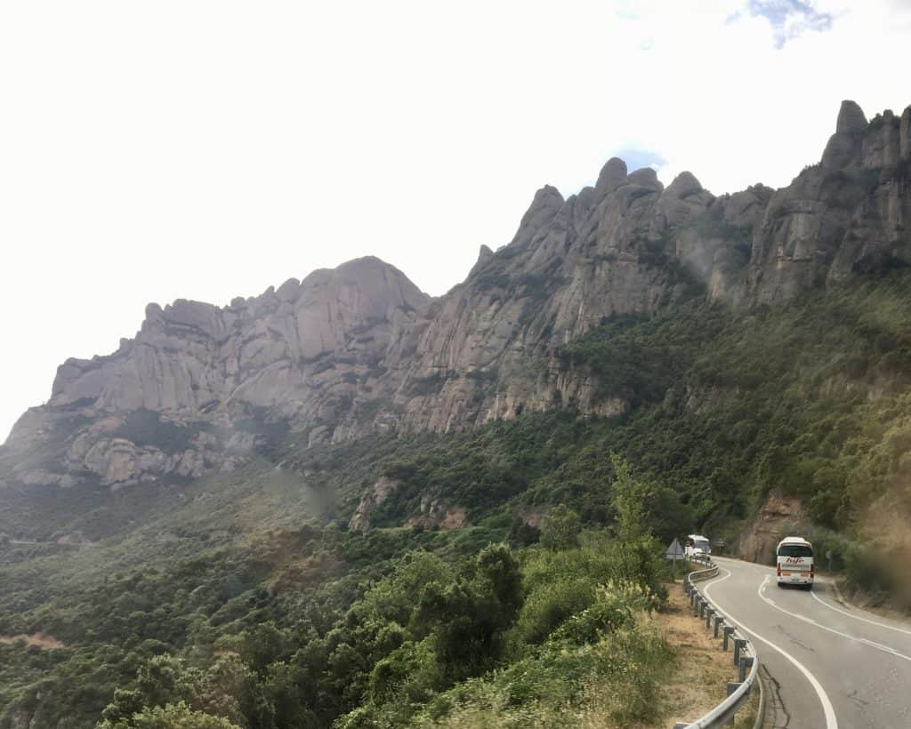 Driving  Montserrat Castlexperience full day food wine cheese tours