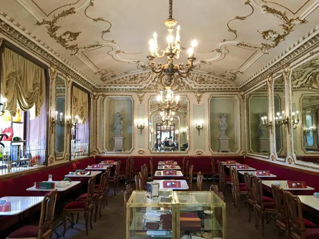 Turin Torino bar chandelier
