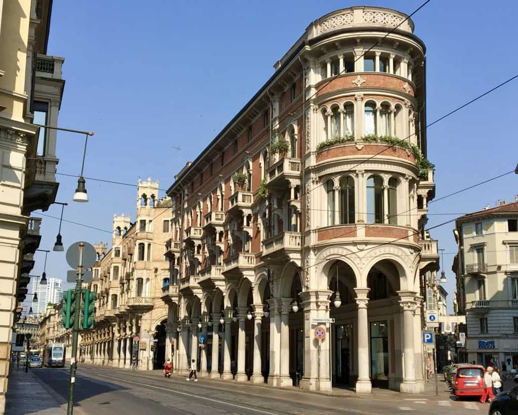 Turin architecture building Torino travel