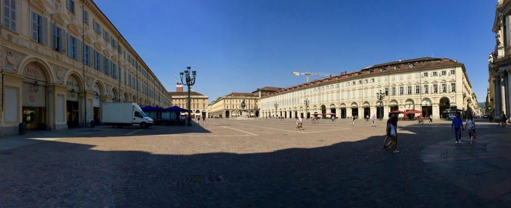 Piazza San Carlo Turin Italy