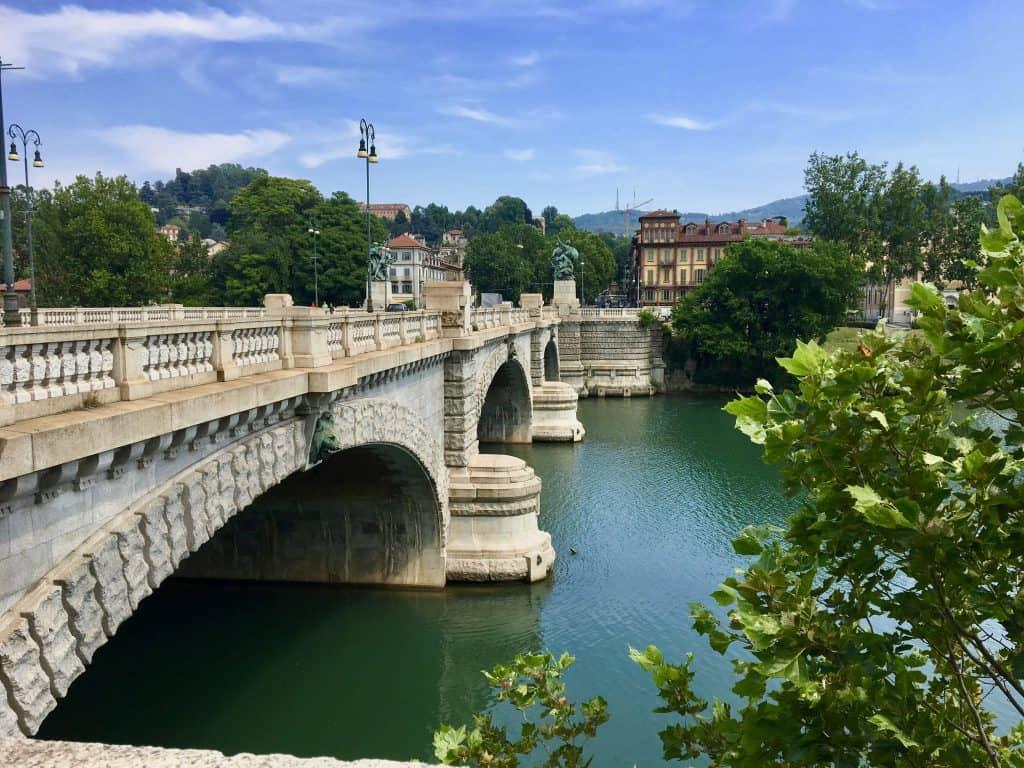 Turin Torino Po River Northern Italy travel