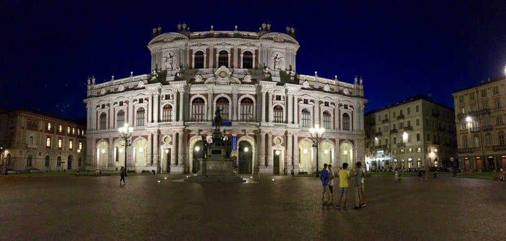 Turin Torino piazza architecture building