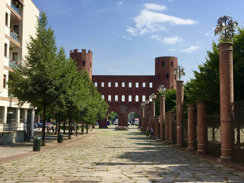 Porta Palazzo Torino Turin history Romans