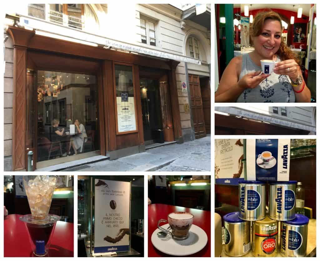 original lavazza coffee shop turin torino italy caffe