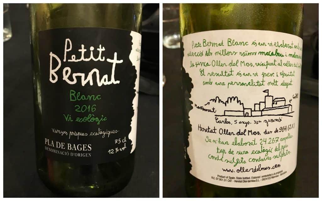 Petit Bernat Wine labels