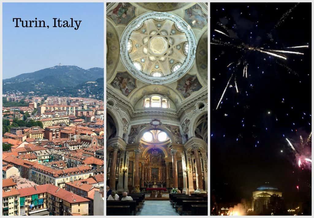 Turin Italy collage Torino