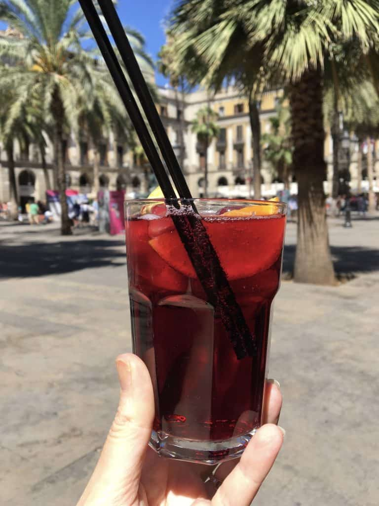 Sangria in Barcelona