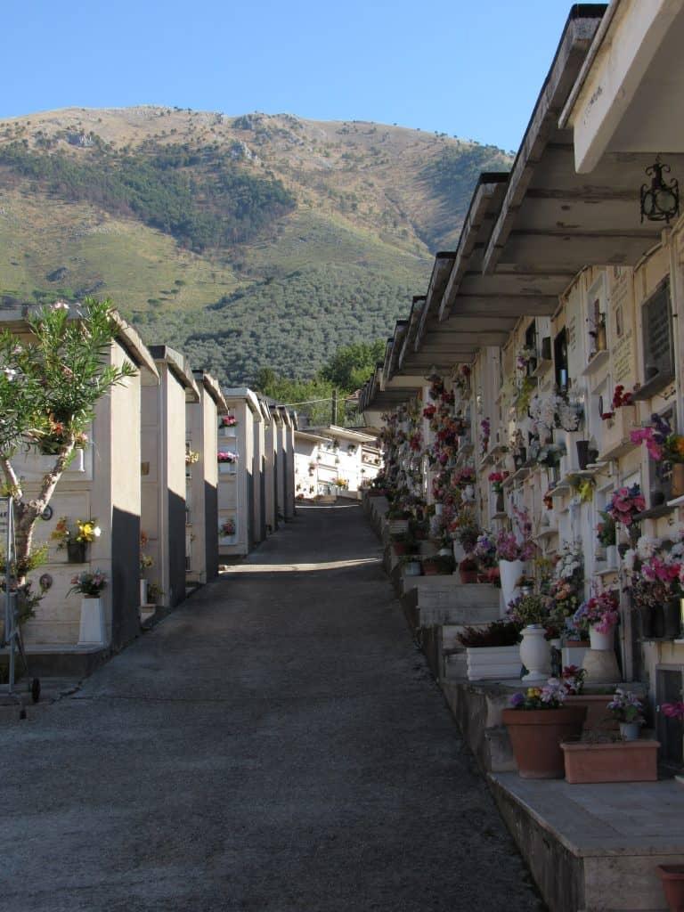 Cemetery in Cervaro, Frosinone