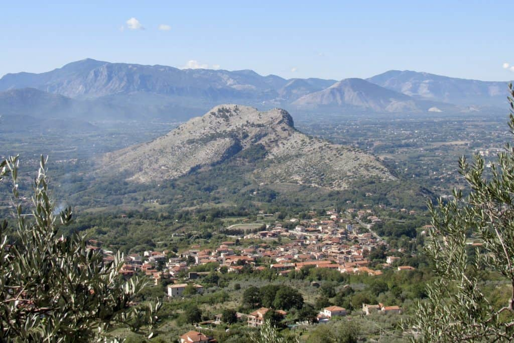Monte Trocchio - Cervaro, Lazio on the scenic Italian road trip