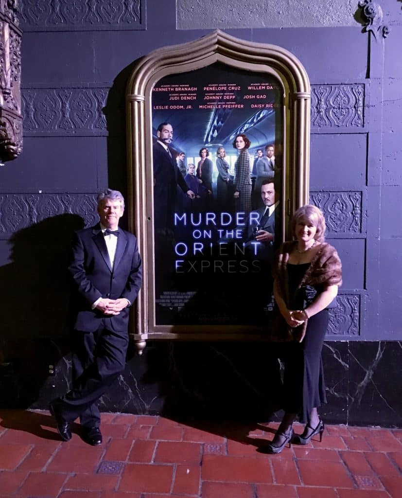 Christine McConnell hosts Murder on the Orient Express at the Ace THeatre DTLA