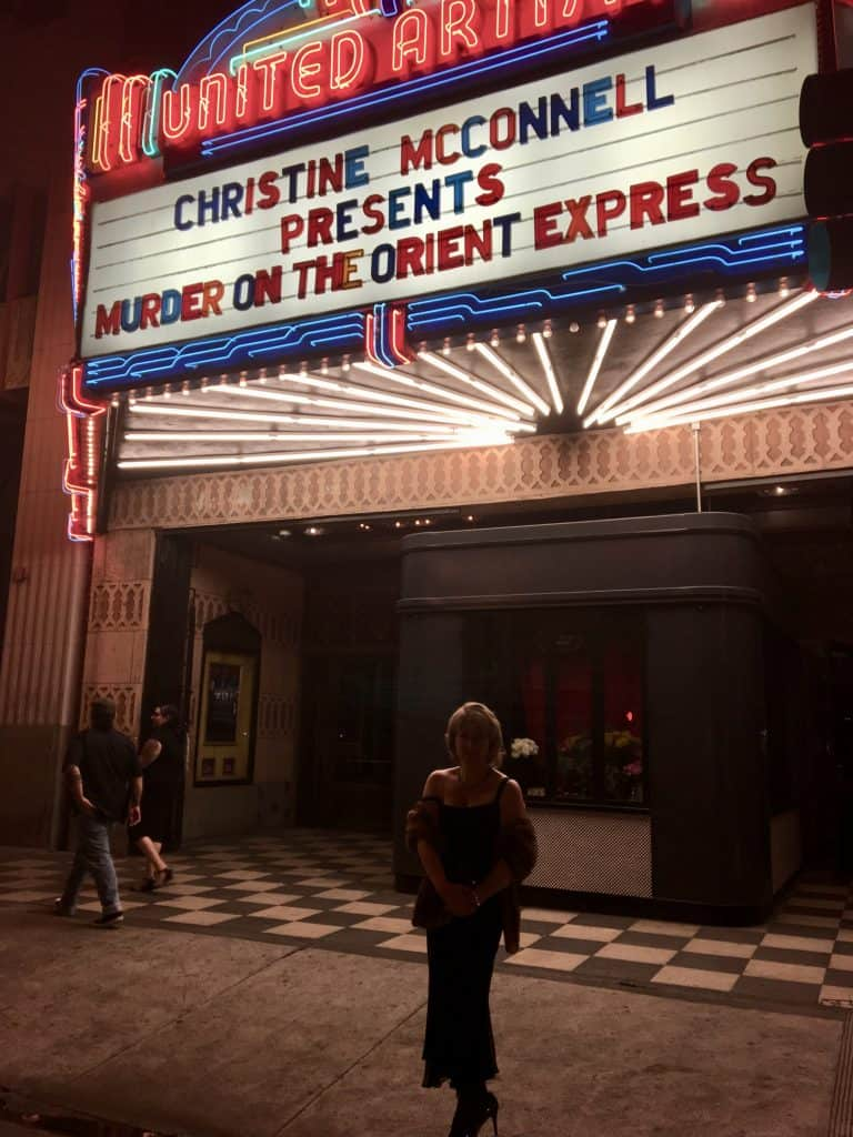 Murder on the Orient Express with Christine McConnell Ace Theatre