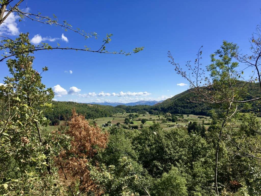 Viticuso along a scenic Italian road trip