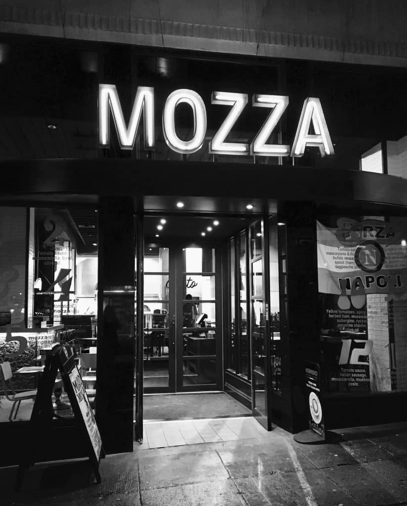 Mozza Glasgow, Scotland