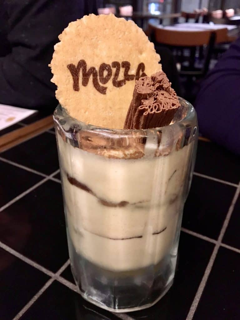 Mozza pizzeria in Glasgow, Scotland