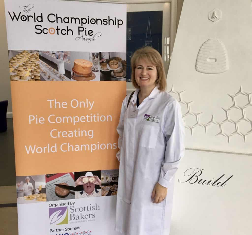 Christina Conte, judge at the World Championships for Scotch Pie