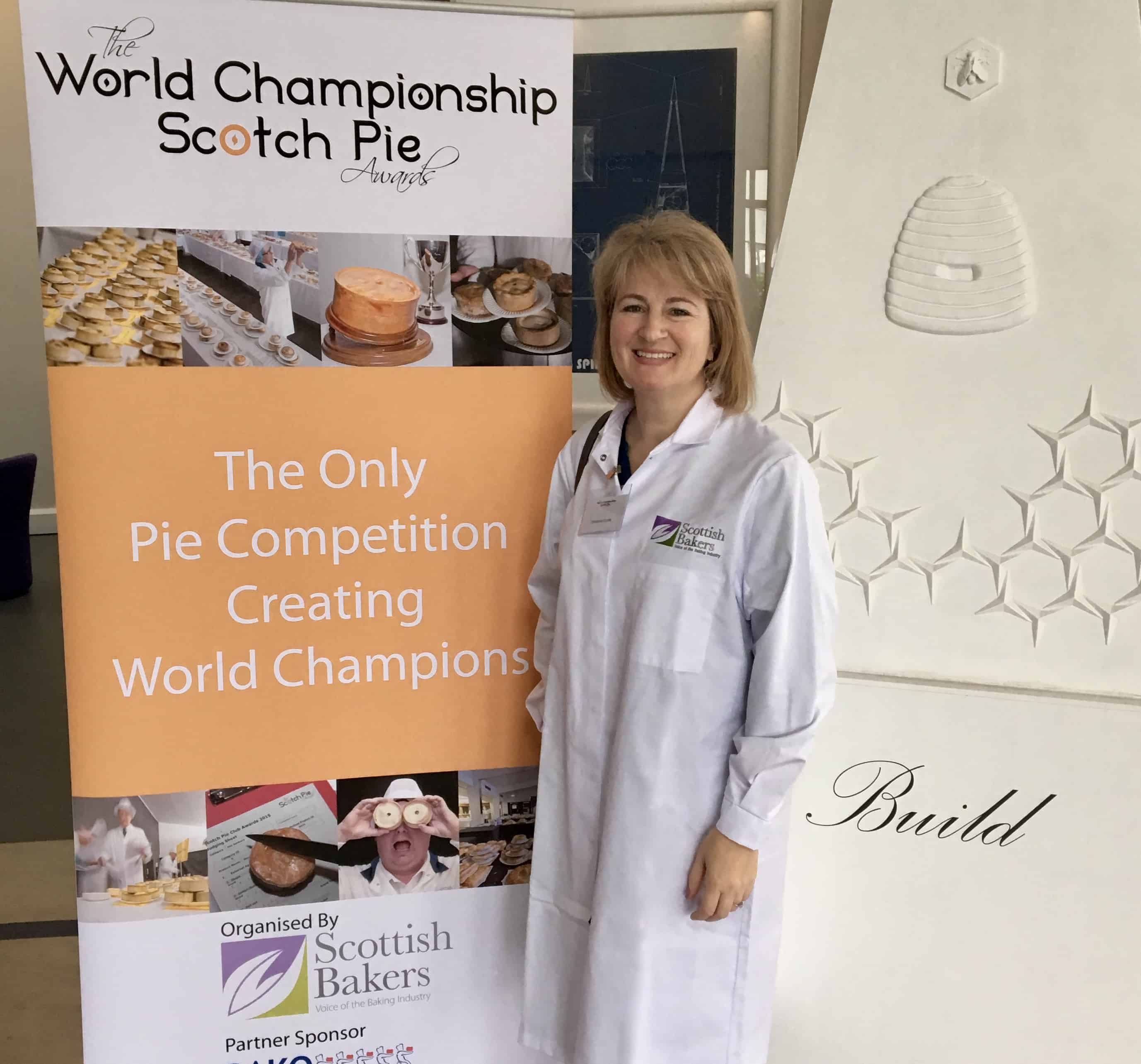 Christina Conte, judge at the World Championships for Scotch Pie work with Christina's Cucina