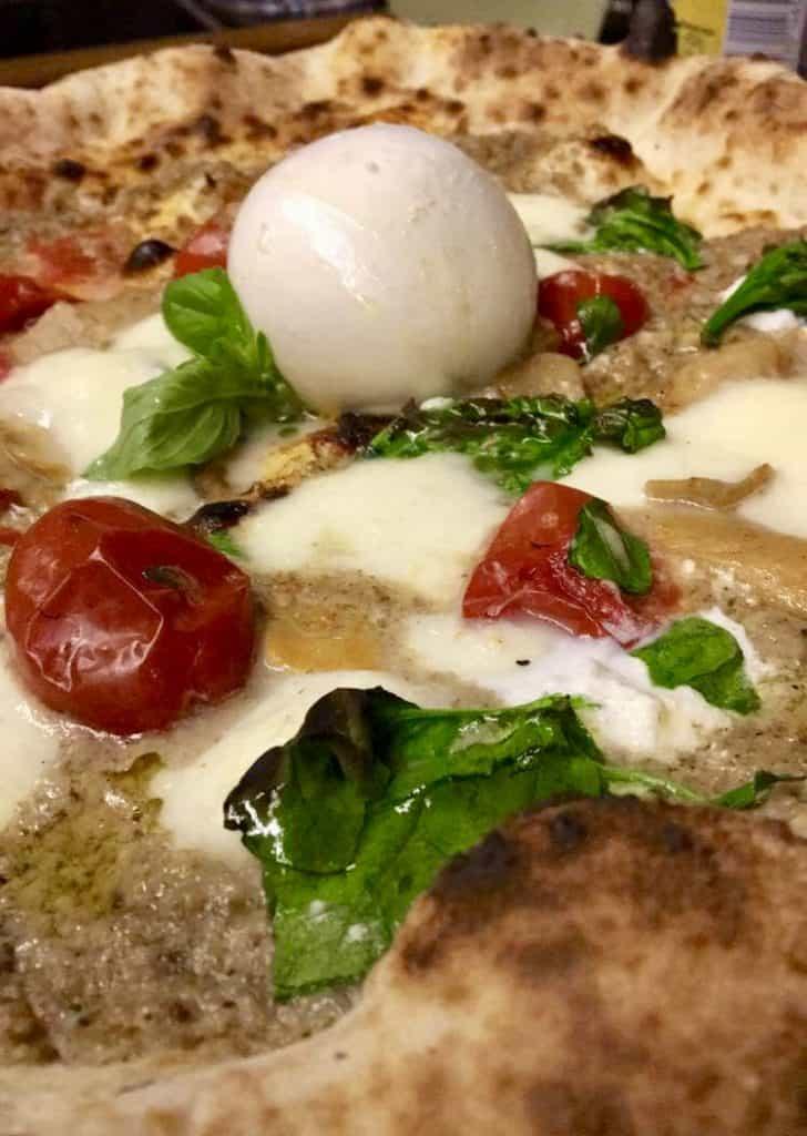 Mozza pizzeria in Glasgow, Scotland