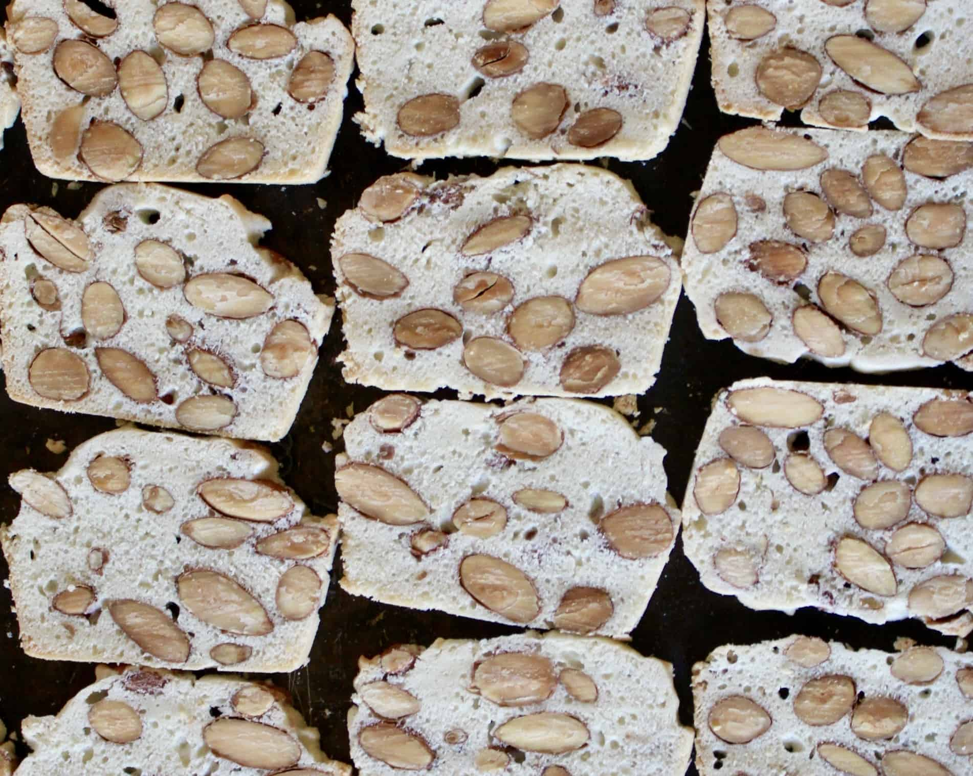 Australian Almond Bread Cookie Biscuit Biscotti recipe
