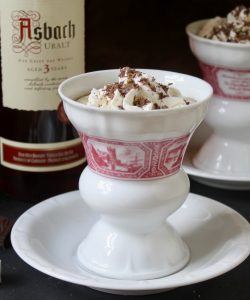 How to Make an Authentic Rüdesheimer Coffee with Asbach Brandy and Cream