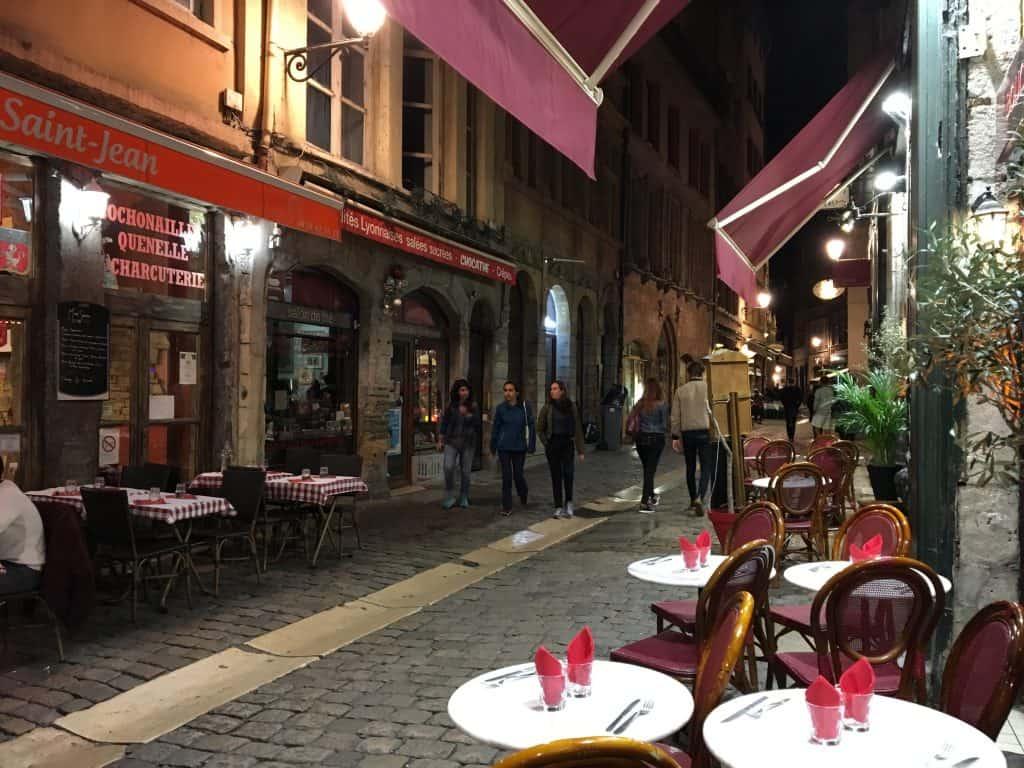 Bouchons in Lyon, France